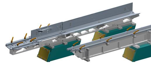 Die Sortierrinnen dienen zur Sortierung von Werkstücken in Zuführanlagen oder sonstigen Geräten. Die MaHa Korz GmbH ist spezialisiert auf die Planung, Konstruktion und Fertigung von Automationsanlagen, Fördertechnik und individuellen Sondermaschinen.