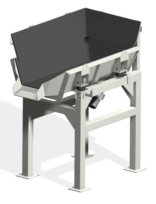 MaHa Bunkerrinnen werden zum Zwischenspeichern und Vordosieren von Schüttgut eingesetzt. Die MaHa Korz GmbH ist spezialisiert auf die Planung, Konstruktion und Fertigung von Automationsanlagen, Fördertechnik und individuellen Sondermaschinen.