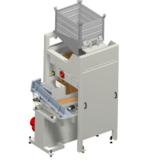 Diese Anlage ist für kleinere rotationssymetrische Teile geeignet. Die MaHa Korz GmbH ist spezialisiert auf die Planung, Konstruktion und Fertigung von individuellen Sondermaschinen, Fördertechnik und Automationsanlagen.